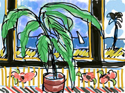 DUCOTE; Matisse Window; digital painting