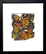 TAYLOR, Monarchs, ink and watercolour SOLD