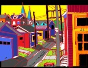 Vancouver Alley (accepted for Federation of Canadian Artists 1st digital show, opening late November 2014) SOLD, additional prints available